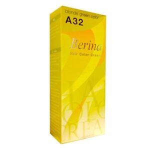 New-Fashiion-Hair-Berina-A32-blonde-green-color-Permanent-Dye-Cream-B506