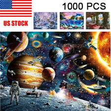 1000PCS Jigsaw Puzzles Educational Toy Scenery Space Stars Educational Puzzle