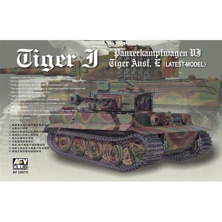 AFV CLUB  35 Sd.kfz 181 Tiger I (Late Type)