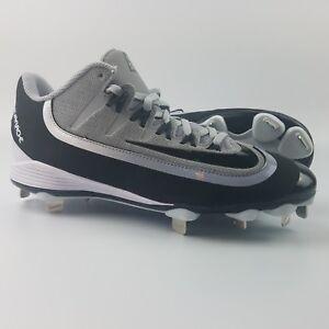 c88bcf2a303e2 Nike Huarache 2kFilth Pro Low Mens Size 8 Baseball Cleats Wolf Grey ...