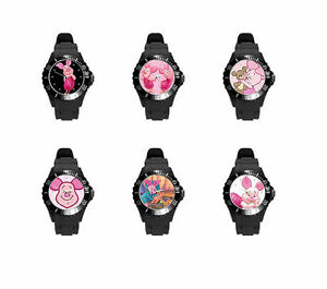 Piglet-So-many-Color-and-styles-Soft-Plastic-Rubber-Wrist-Watch