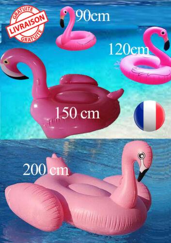 Bouée gonflable  Flamant rose Géant pour Enfant et Adulte  Piscine Plage