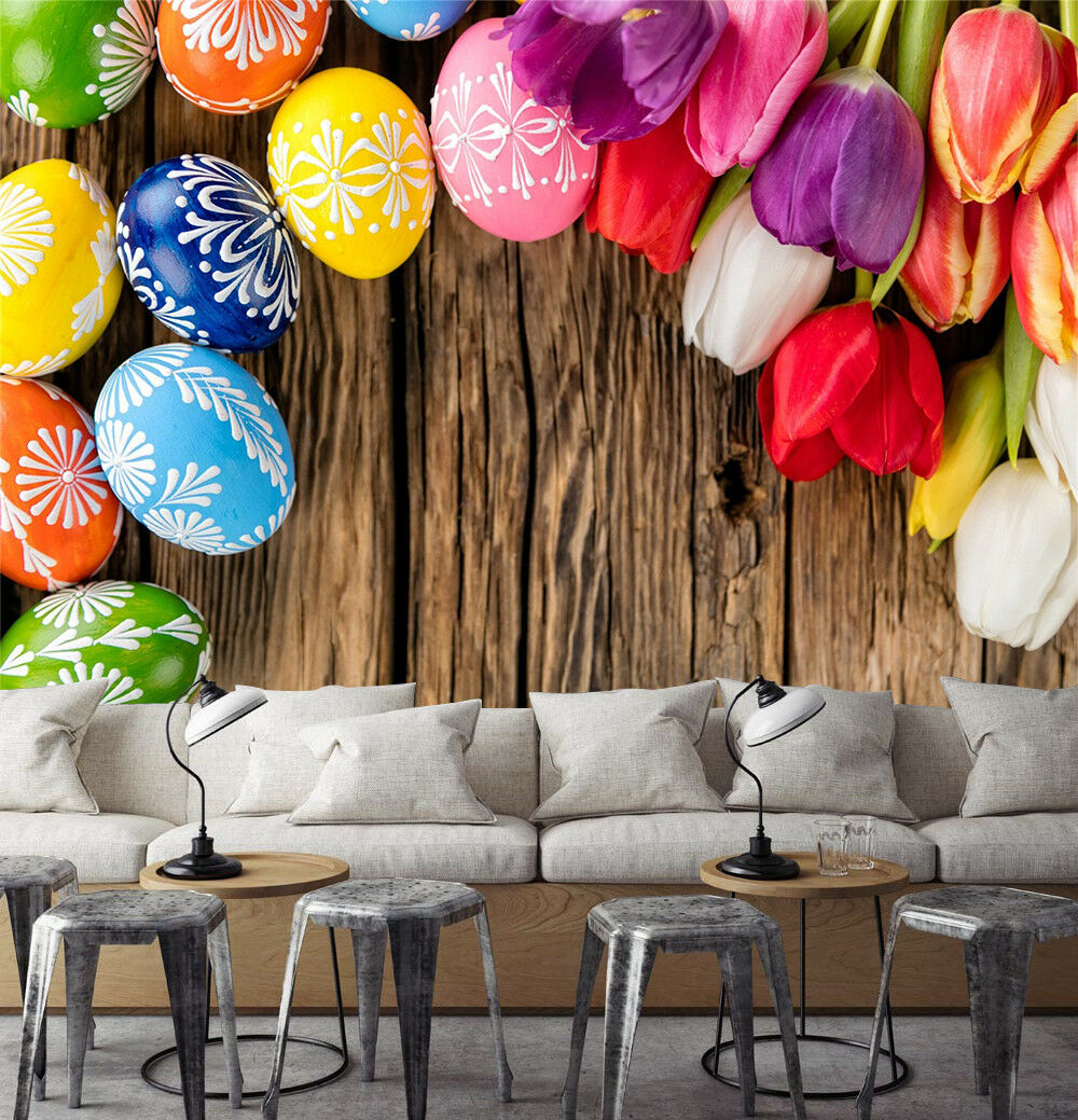 3D Balloons Flowers 75 Wall Paper Murals Wall Print Wall Wallpaper Mural AU Kyra