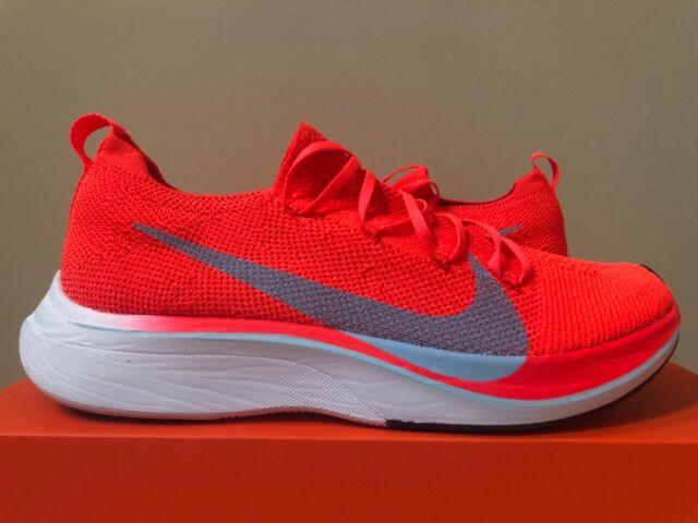 fe9c03368cf Nike Vaporfly 4% Flyknit Bright Crimson Size 4-13 AJ3857-600 100% Authentic
