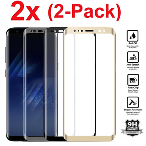 2x-For-Samsung-Galaxy-S8-Note-8-Screen-Protector-Tempered-Glass-Curved-Glass