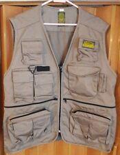 Rare Camel Trophy Adventure Sarfari Vest size Large, Camping Fishing outdoors