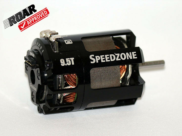 Speedzone 9.5T Modified Brushless Motor Competition ROAR Approved Sensorojo NEW