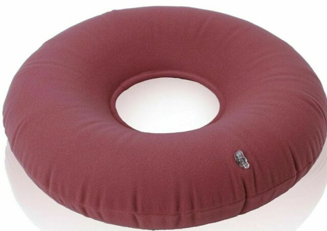 Dr Frederick S Original Donut Cushion 15 Inflatable Donut Pillow For Tailbone