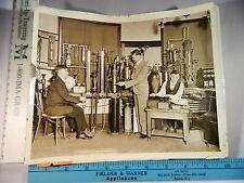 Rare Hist Orig VTG 1931 Dr F C Brickwedde J W Cook R B Scott Liquid Helium Photo