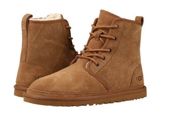 14feb3b3890 UGG Men Harkley Chestnut 1016472 Laces Boot Original so Comfortable 5