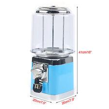 16 Blue Bulk Candy Nut Vending Machine Withkeys Candy Countertop Treat Dispenser