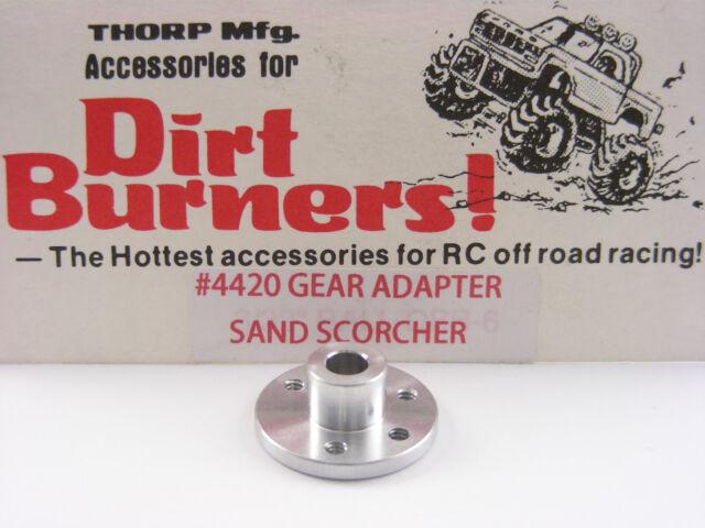 Vintage THORP Dirt Burners 4420 SRB Sand Scorcher Aluminum Spur Gear Adapter NEW