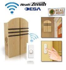 Desa Elegance 85 - Wireless Cordless Door Bell Chime Kit & Wireless Push Button