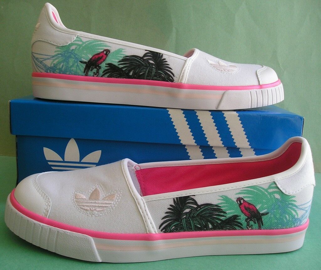 RAREAdidas TACTIC SLIP ON superstar honey samoa samoa samoa midiru shoe tennisWomen sz 8.5 7b45cd