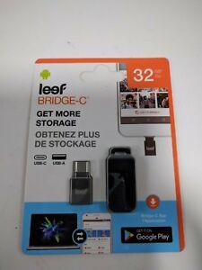 32GB-USB-Type-C-Flash-Drive-Leef-Bridge-Jump-Drive-USB-3-1-3-0