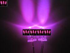 100pcs, 5mm Pink / purple Round Bright Water Clear LED Leds Light Lamp  100 pcs