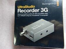 Blackmagic Design Ultrastudio 3g Recorder For Sale Online Ebay