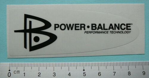 Power Balance Sticker Aufkleber Rennrad Mountainbike Enduro Downhill POB003