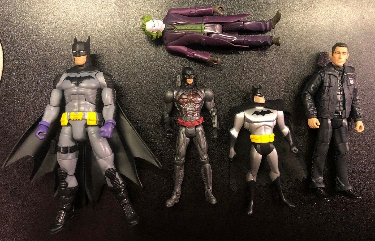 Batman Figure Lot Multiverse Joker Dark Dark Dark Knight Animated Series Robin Year End f73c47