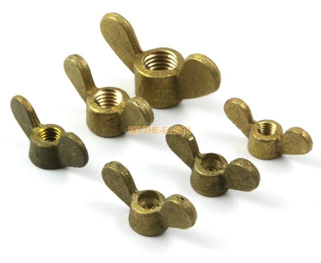 M4 M5 M6 M8 M10 M12 175 Pieces, Metric Wing Nut Assortment Swordfish 32581