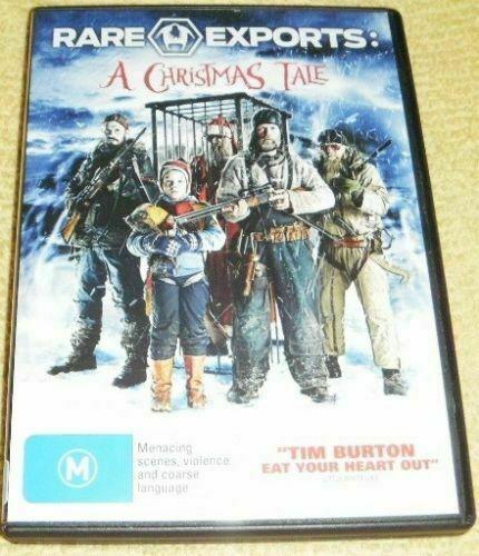 RARE EXPORTS - A CHRISTMAS TALE dvd REGION 4 / 2 evil santa 2011 christmas