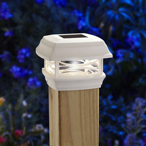 Moonrays-Woods-ONE-4X4-SOLAR-POST-CAP-LIGHT-WHITE-91254-fence-and-deck