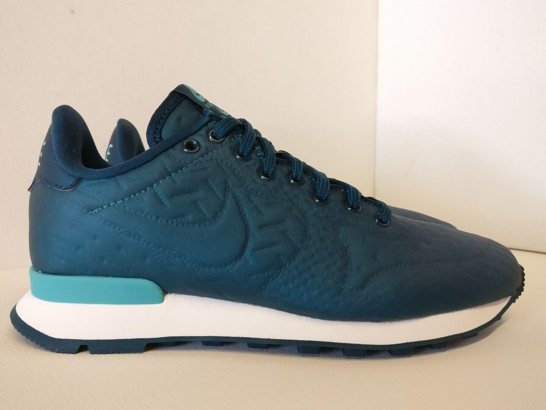 Nike de mujer internacionalista Jacard Invierno Metálico Mar Verde 859544901