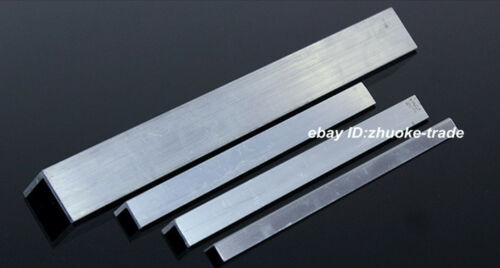 2pcs40x40x4mm Aluminum 6061 Angle 4mm Thick Any Length Cut Solid Frame Stock T6