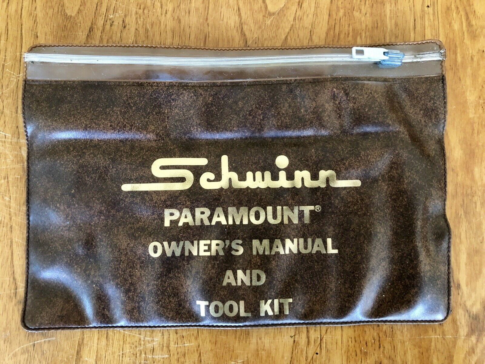 Vintage Schwinn Paramount Owner's Manual And Tool Kit Pouch  W  Campagnolo Tools  factory direct and quick delivery