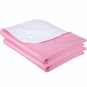 3-PACK-REUSABLE-UNDERPAD-34x36-Heavy-Duty-Washable-Pee-Bed-Pad-Incontinence-Chux