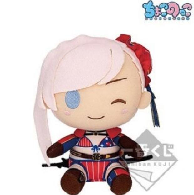 fate grand order fgo plush Miyamoto Musashi ichibankuji lottery A Berserker NEW