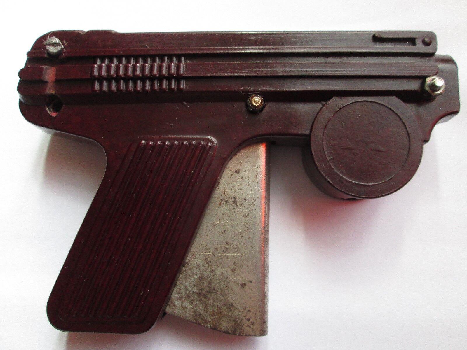 Vintage bakelit spielzeugpistole pistole 1950-1960s