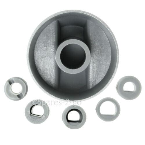 6 x Baumatic Argent Gris contrôle pour four plaque de cuisson Bouton commutateur kit adaptateur cuisinière