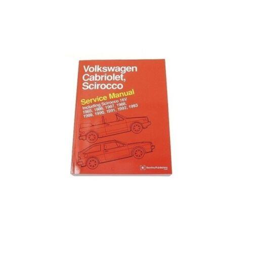 Volkswagen Cabriolet Scirocco Bentley Repair Manual VW8000110