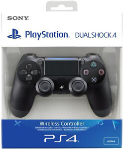 CONTROLLER-ORIGINALE-SONY-PLAYSTATION-4-PS4-DUALSHOCK-V2-BLACK-WIRELESS-NUOVO