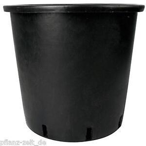 10 x topf rund 33 cm h he 33 cm 25 liter pflanzcontainer blumentopf grow ebay. Black Bedroom Furniture Sets. Home Design Ideas