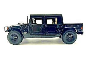 Maisto HUMMER H1 Diecast Car Truck SUV 1/18 scale Black #494