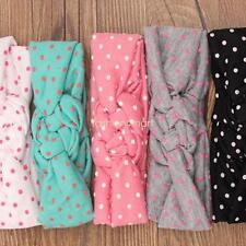 5PCS Baby Girls Toddler Kids Cute Dots Weaving Cross Knot Headband Accessories