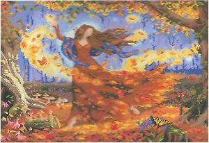 PräZise Diamond Painting-diamant Stickerei/malerei Diamant Bild Herbstzauber 56 X 48 Cm Wasserdicht Bastelsets Bastel- & Künstlerbedarf StoßFest Und Antimagnetisch