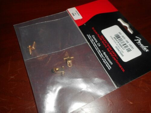 - GOLD Genuine Fender American Series String Guide Trees 2 003-9475-049 NEW