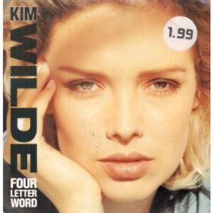 KIM-WILDE-Four-Letter-Word-12-034-MAXI-VINYL-UK-Mca-3-Track-Featuring-VG-VG