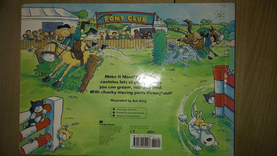 Pony club, Illustrator by Sue King