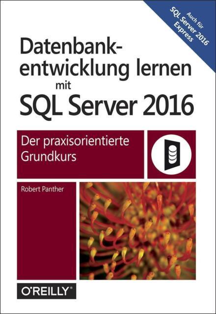 Robert Panther: Datenbankentwicklung lernen mit SQL Server 2016