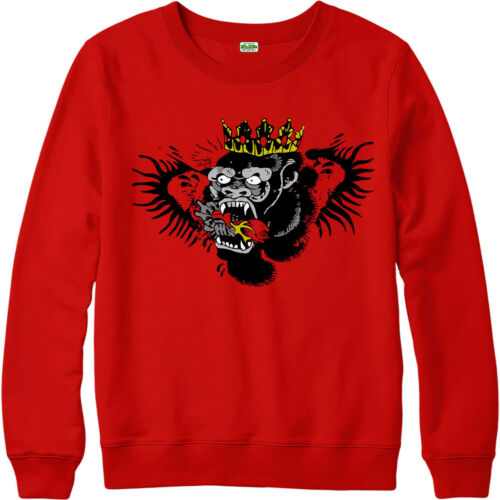 Connor Mcgregor Jumper MMA UFC Ireland Biting Heart Tattoo Design SweatShirt