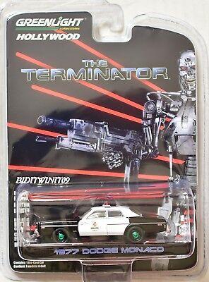 IN STOCK Greenlight Hollywood 19 The Terminator 1977 Dodge Monaco Metropolitan