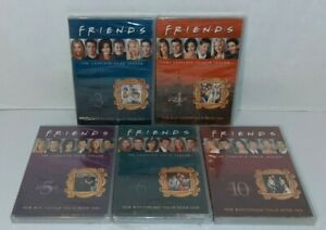 Brand-New-Factory-Sealed-Friends-TV-Sitcom-DVD-Complete-Seasons-3-4-5-6-amp-10