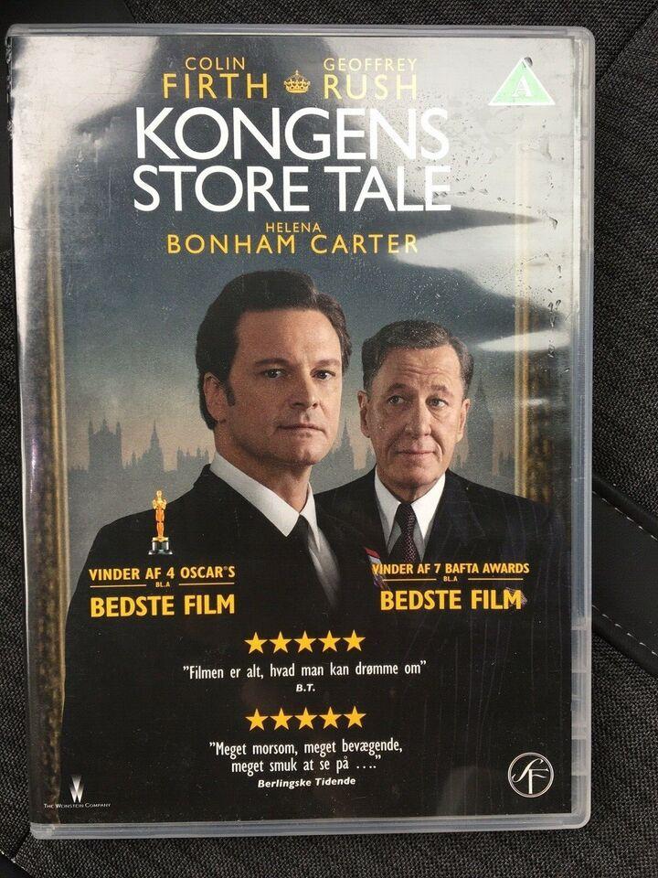Kongens store tale, DVD, thriller