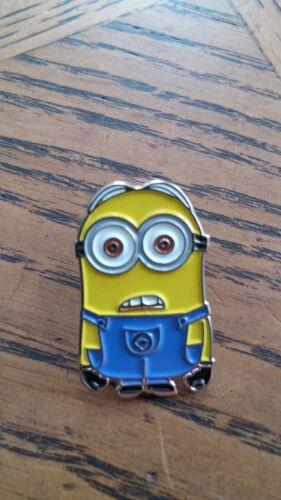 Minion BOB Despicable Me QUALITY  gru cartoon movie enamel pin  lapel badge