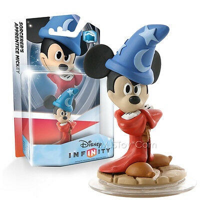 NEW Disney Infinity Sorcerer MICKEY MOUSE Character Figure Xbox Wii U PS3 STOCK