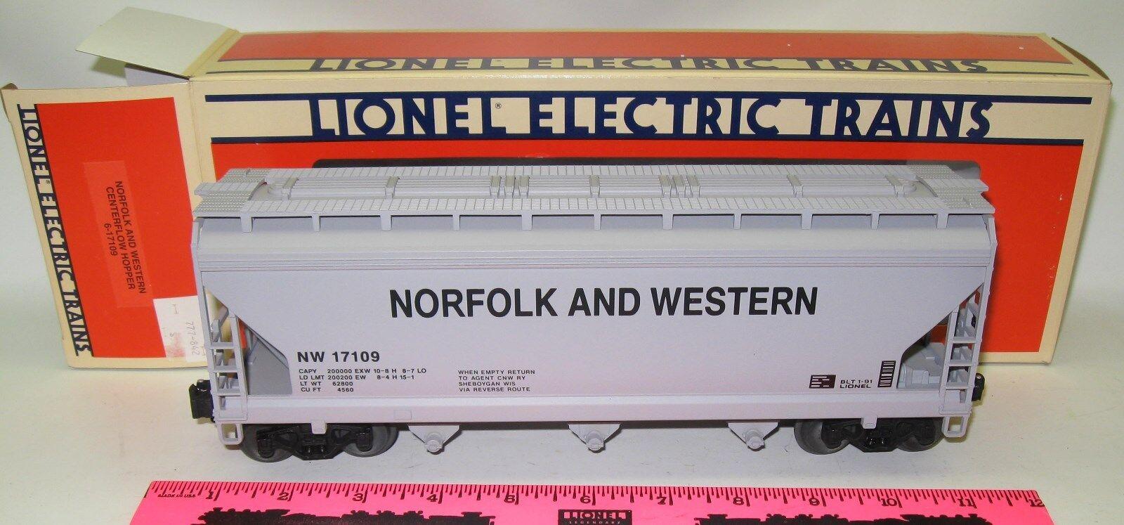 Lionel 6-17109 Norfolk and Western Centerflow Hopper